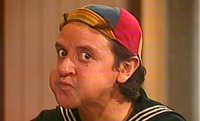 Carlos Villagrán intrepreta o Quico.