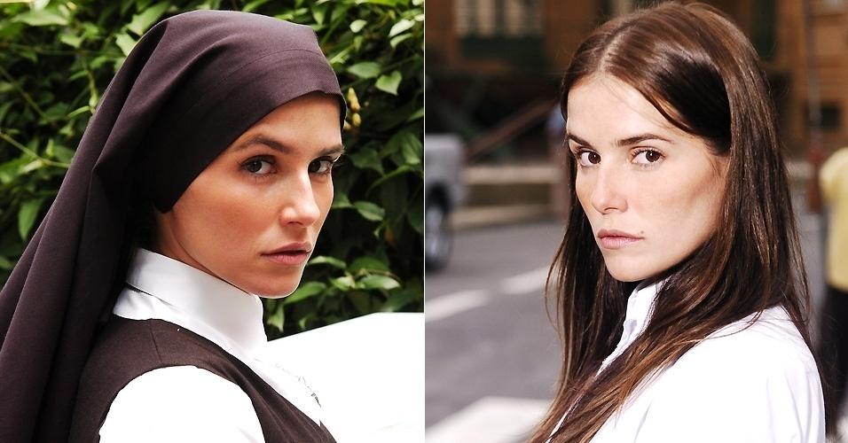 """Deborah Secco foi uma das protagonistas da novela """"Pé na Jaca"""". A irmã Elizabeth foi a terceira vilã de sua carreira (6/11/06)"""