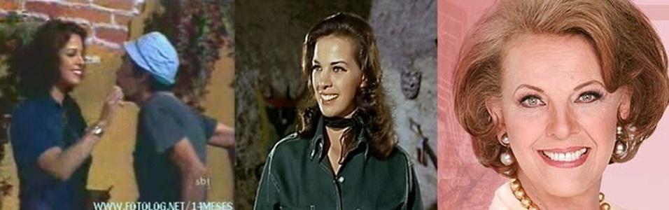 Uma das versões de Glória, a mulher que encantou o Seu Madruga, era interpretada pela atriz Regina Torne.