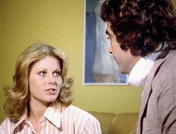 """Vera Fischer em cena do filme """"As Delícias da Vida"""" (1973)"""