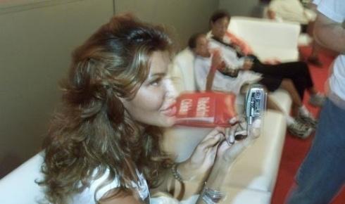 Após 15 anos de tentativas judiciais, em 2005 ela finalmente consegue mudar seu nome de Luís Roberto Gambine Moreira para Roberta Gambine Moreira. Acima, Roberta em foto de 2001