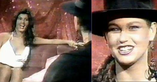 Vídeo da internet datado de 1984 mostra Roberta Close entrevistando Xuxa sobre assuntos como apelidos, carreira, perfumes e ensaios sensuais