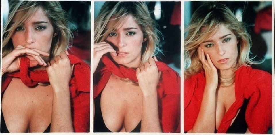 1998 - Sequências de fotos da atriz Luciana Vendramini.