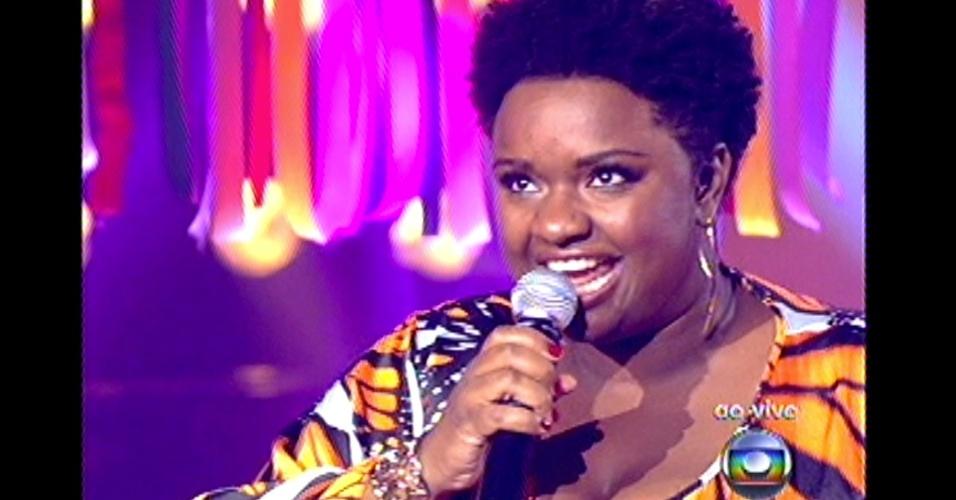 16.dez.2012 - Ellen Oléria se apresenta no 'The Voice Brasil'
