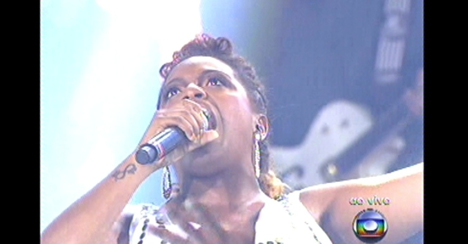 16.dez.2012 - Ludmillah Anjos se apresenta no 'The Voice Brasil'