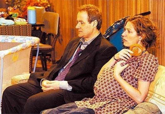 """12.jun.2005 - Os atores Daniel Dantas e Patrícia Pillar em cena do episódio da série """"A Diarista"""""""