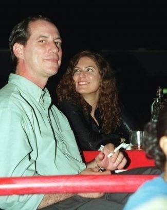 15.nov.1999 - Ciro Gomes e a atriz Patrícia Pilar durante show de Ney Matogrosso no Canecão, no Rio de Janeiro