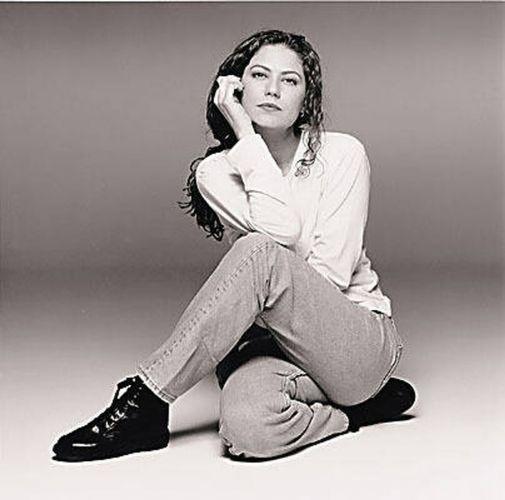 A atriz Patrícia Pillar em foto de 1996