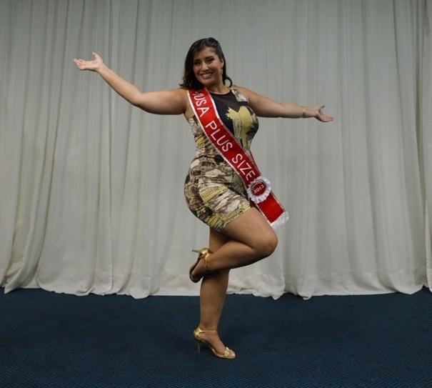 28.jan.2013 - Lígia Alvarez foi eleita Miss Plus Size do Carnaval de São Paulo. A bela irá desfilar na escola de samba Mocidade Alegre, campeã de 2012