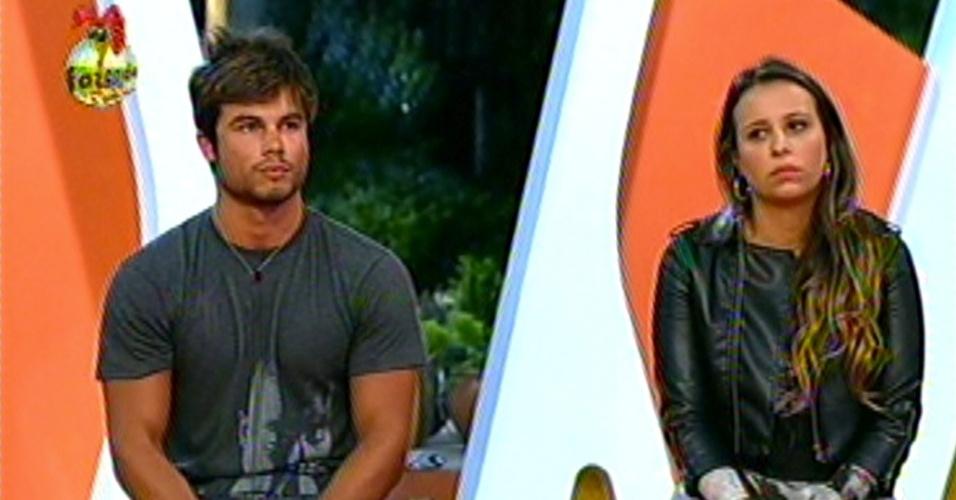 Victor e Angelis disputam a última vaga na final do reality show da Record, Isis e Thyago já estão na grande final do programa, nesta segunda-feira (29/1/13)