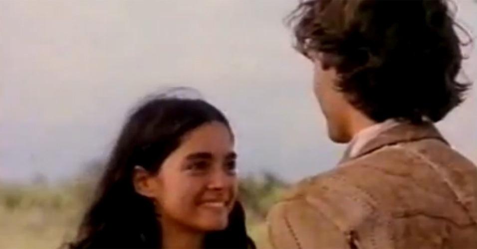 """Cláudia começou a carreira aos 15 anos, no filme """"Amor e Traição"""" (1979), de Pedro Camargo"""