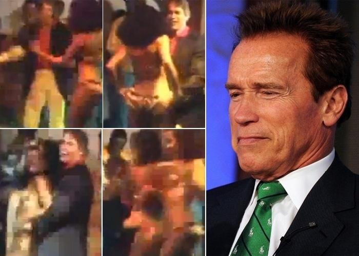 """Nos anos 80, Arnold Schwarzenegger veio conhecer o """"perigo triplo do Carnaval: a bunda, a mulata e o samba"""", segundo o ator. O passeio, que foi registrado em um documentário, rendeu altos micos para o astro que ainda não tinha conquistado as telonas. Em um baile, o ator agarrou e """"tirou casquinha"""" de passistas"""