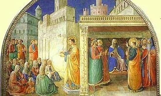 No Vaticano, é possível visitar também a capela Nicolina, concluída em 1448 pelo Beato Angélico, com afrescos que alegorizavam cenas de santo Estevão e são Lourenço