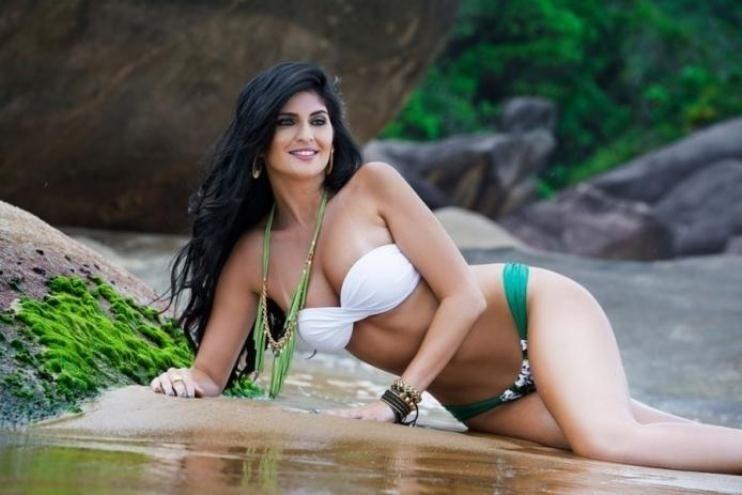 Suellen Andrade, representante do Palmeiras