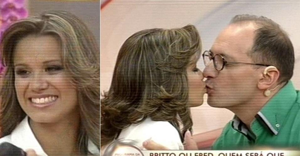 28.fev.2013 - Após beijar Fred no trânsito de Belo Horizonte (MG) e ganhar fama nacional, a estudante de radiologia Izabela Araújo foi convidada ao