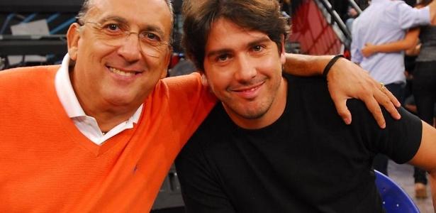 Galvão saiu em defesa de Caca - Zé Paulo Cardeal/TV Globo