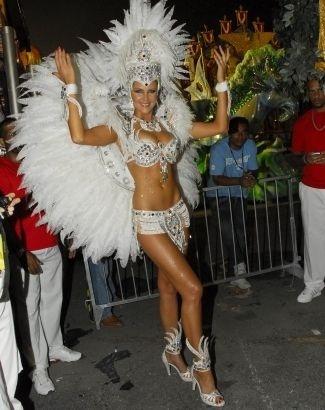 No Carnaval, Ana exibe seu corpinho em forma ao desfilar com a escola de samba Tom Maior, em São Paulo (fev.2009). Veja outras imagens da apresentadora na folia