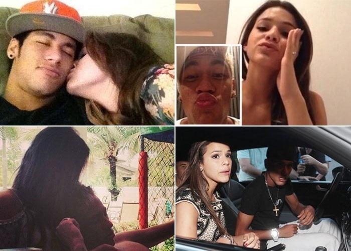 Neymar e Bruna Marquezine negaram, omitiram o romance o tempo que foi possível, mas a coluna ?Retratos da Vida? do ?Extra? conta como tudo começou