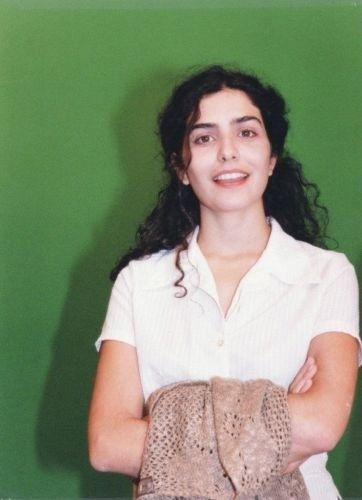 1997 - A atriz Letícia Sabatella posa para foto
