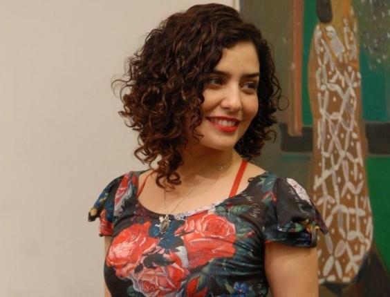 """Nov.2010 - Letícia Sabatella no lançamento do seriado da Globo """"Afinal, o que querem as mulheres?"""""""