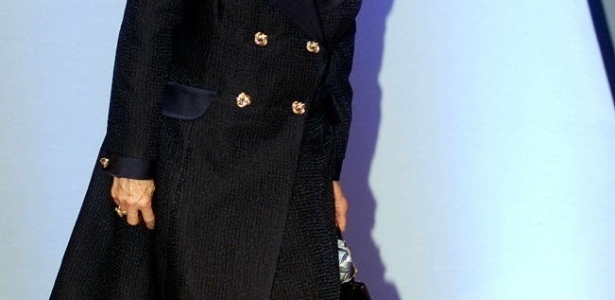 3.out.2000 - A ex-primeira-ministra britânica Margaret Thatcher participa de conferência do Partido Conservador, em Bournemouth, na Inglaterra