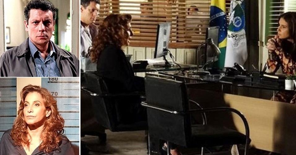 """Braço direito de Helô (Giovanna Antonelli), Barros (Marcelo Airoldi) também teve um probleminha de amnésia. Em capítulo que foi ao ar em fevereiro, Wanda (Totia Meireles) prestou depoimento sobre a morte de Jéssica (Carolina Dieckmann). Mas o inspetor não lembrou que já havia interrogado a traficante na cena em que ela bateu no carro de Maitê (Cissa Guimarães). Gloria Perez resolveu o furo em um capítulo posterior, quando Barros aparece se lamentando para Helô, pedindo desculpas por não ter reconhecido a bandida. """"Pergunta se eu lembro de todas as caras que sentaram naquela cadeira pra resolver coisas triviais? Quantas brigas de trânsito você se depara por dia?"""", disse a policial"""