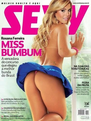 Janeiro de 2012 - Rosana Ferreira, Miss Bumbum 2011