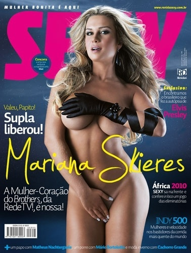 "Julho de 2009 - Mariana Skieres, a dançarina do programa ""Brothers"""