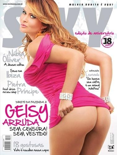 Novembro de 2010 - Geisy Arruda