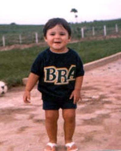 1982 - Felipe Massa na infância