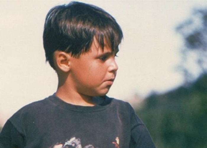 1988 - Felipe Massa aos 7 anos
