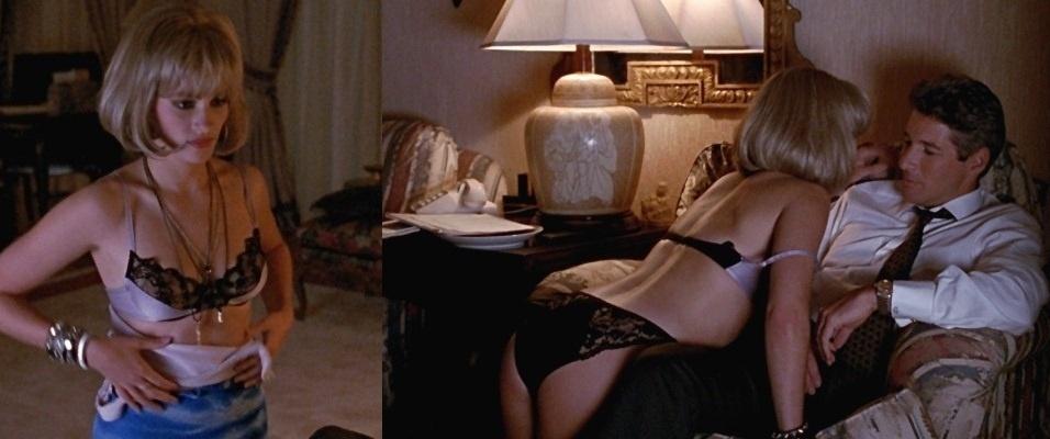 """""""Uma Linda Mulher"""" (1990) - A história de amor entre uma prostituta e um milionário conseguiu arrancar lágrimas até dos espectadores mais moralistas e tornou-se um dos maiores clássicos dos anos 90"""