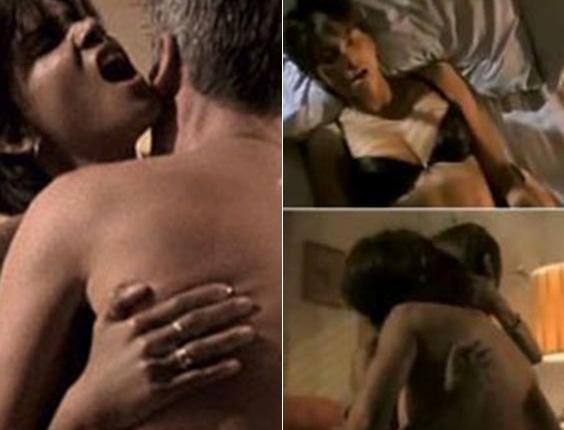 """""""A Última Ceia"""" (2001) - No filme que deu o Oscar a Halle Berry, ela transa com o guarda interpretado por Billy Bob Thornton"""