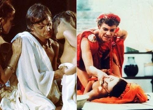 Calígula (1979) - Uma das mais polêmicas produções do cinema é um dos poucos filmes que revelam as perversões que o Império Romano escondia