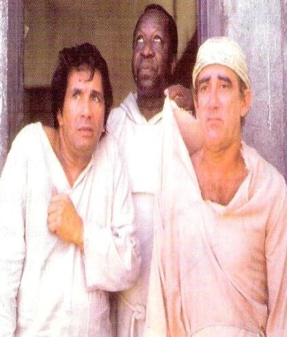 """Dedé, Mussum e Didi no filme """"Auto da Compadecida"""" (1987)"""