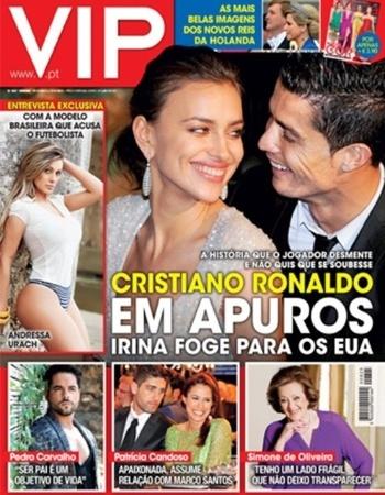 """6.mai.2013 - Andressa Urach concedeu uma entrevista para a revista portuguesa """"VIP"""" e desabafou sobre a polêmica com o jogador Cristiano Ronaldo. """"Nunca tive intenção de tornar isto público, pelo contrário, odeio esse rótulo de mulher maria-chuteira"""", afirmou"""