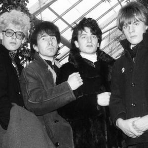 O U2 em foto do final da década de 1970