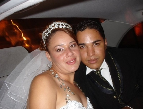 """Ronaldo Martins e Sandra Regina / Guarulhos (SP) 12/01/2008. """"Foi o dia mais feliz de nossas vidas"""", disse Ronaldo"""