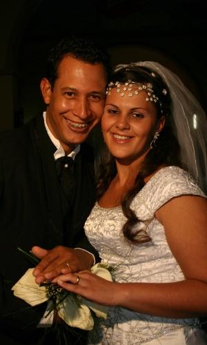 Ana Carolina de Sousa Oliveira e Carlos Alberto Barbosa de Oliveira. 24/06/2006, São Joaquim de Bicas (MG)