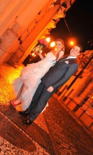 Estela Geraldini Torres Pascoal e Guilherme Fraga Torres Pascoal. 15/10/11, Santos (SP)