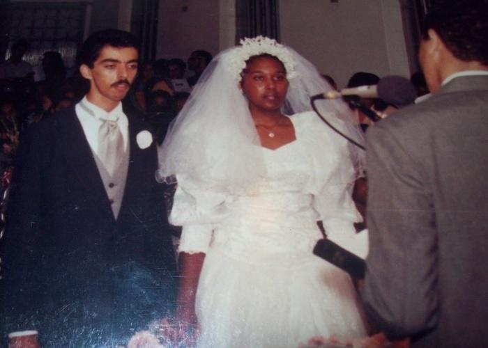Rosani Barbosa e Francisco Ferreira de Castro Neto. 02/22/1995, Coelho Neto (RJ)