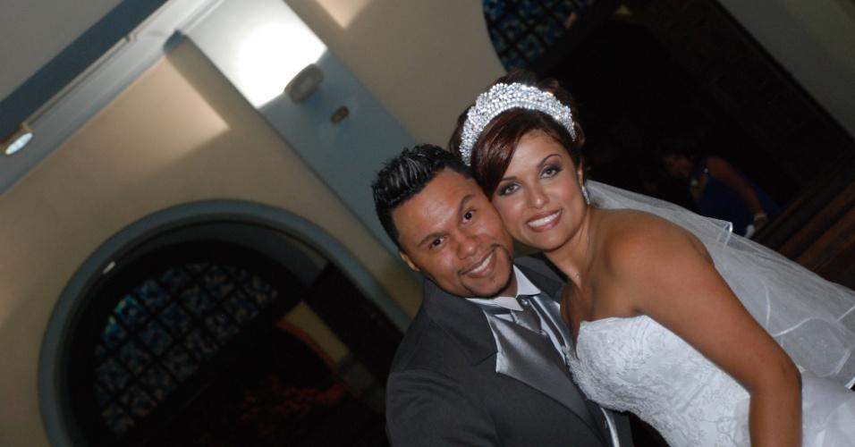 Willian Torres e Andrea Ortiz Torres. 29/01/2011, Santo Andre (SP)