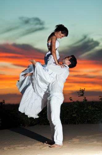 Ana Paula e Kassius Gava se casaram no dia 28 de abril de 2012, na cidade de Boa Esperança (ES).