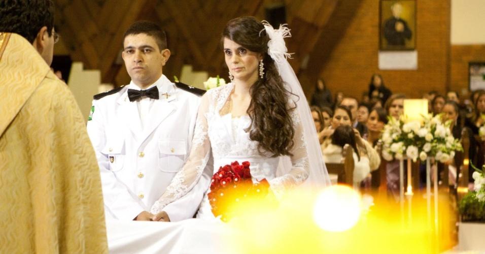 Ana Paula Tavian de Campos e Pedro Henrique de Jesus Prado se casaram no dia 24 de setembro de 2011 na Paróquia São Paulo Apóstolo, em Curitiba (PR).