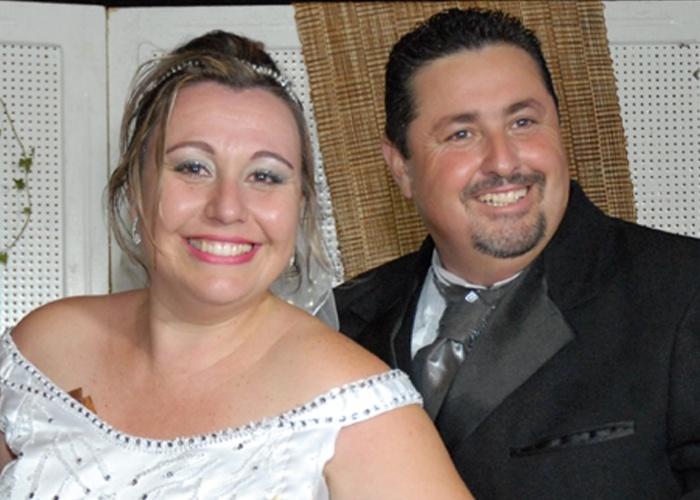 André Moraes e Vanessa Moraes se casaram no dia 15 de dezembro de 2012, na cidade de Amparo (SP).