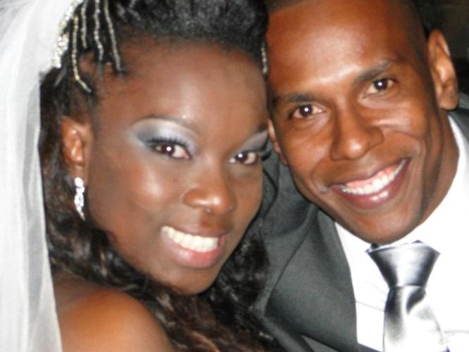 """Em 12 de maio de 2012, Daniela Martins e Rafael Cardoso se casaram na igreja da Nossa Senhora da Saúde, em São Paulo capital. """"O dia mais feliz de nossas vidas"""", afirmam os noivos."""