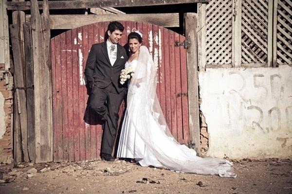 Kassius Gava e Ana Paula são os noivos de Boa Esperança (ES). O casamento aconteceu no dia 28 de abril de 2012.