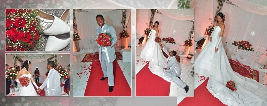 """O casamento de Jeremias Oliveira e Laís Oliveira foi em Feira de Santana (BA), no dia 13 de novembro de 2010. """"Sigo te amando cada dia mais e mais"""", conta a noiva Laís."""