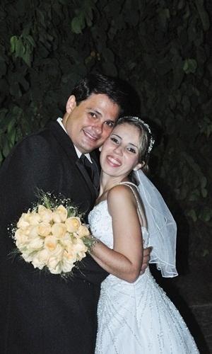 Os noivos Marcelo Coelho e Ana Paula Diniz se casaram em Bom Jardim de Minas (MG), no dia 26 de fevereiro de 2011.