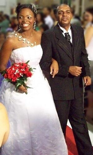 Edilson Natalicio Gois e Ana Paula dos Santos, de Belo Horizonte (MG), oficializaram a união em 24 de outubro de 2009.